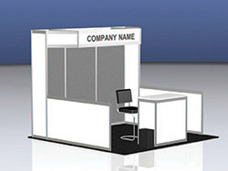 10x10 Turnkey Booth