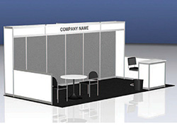 10x20 Turnkey Booth